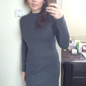 Zara knit bodycon dress